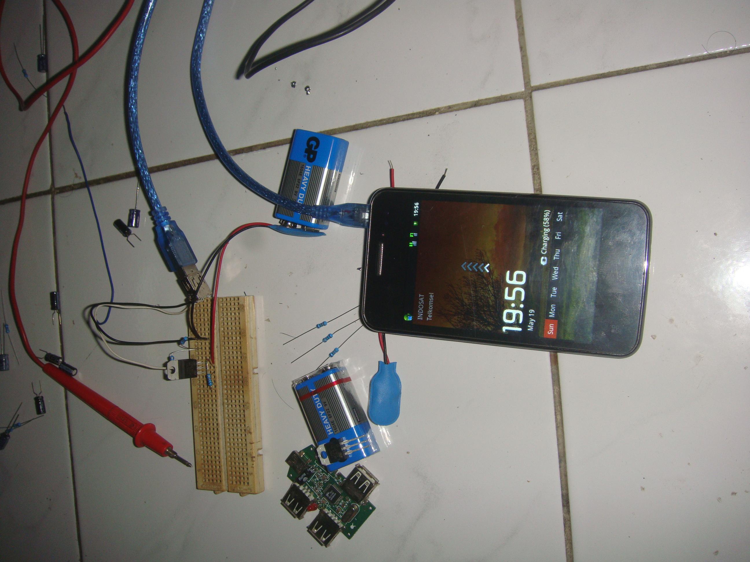 Diy Power Bank Diy4all Usb Powered Battery Charger Circuit Gambar Skema Rangkaian Nah Karena Pada Hp Android Membutuhkan Inisialisasi Charging Maka Agar Dikenali Pinusb Untuk Data Dan Harus Dihubungkan Berikut Pinout